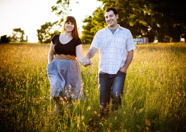 Teasers! Jeff + Leah's Engagement Shoot