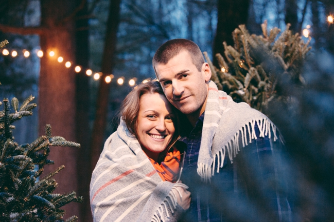 Lindsey + Matt | Engagement | Evergreen Farm, Sterling MA