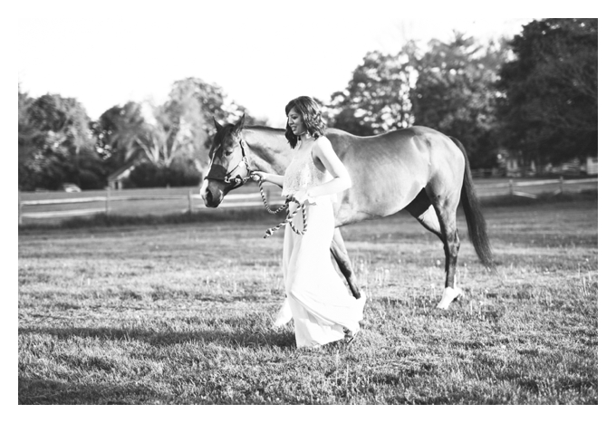 Candid of girl with Horse
